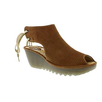 Fly London Ypul - Sand Cupido (Brown) Womens Heels