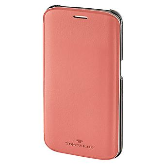 Tom Tailor Booklet New Basic Voor Samsung Galaxy S6 Edge Flamingo Pink