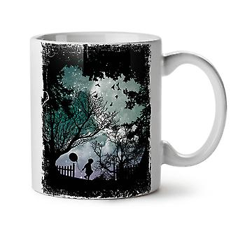 Silhouette Nature NEW White Tea Coffee Ceramic Mug 11 oz | Wellcoda