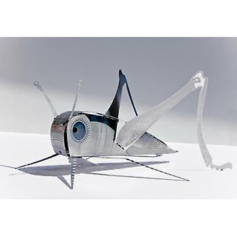 Grasshopper XL Bug Origami Edelstahl Construction Kit