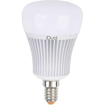 LED E14 Arbitrary 7 W = 40 W RGBW (Ø x L) 60 mm x 104 mm EEC: A+ JEDI Lighting colour-changing, dimmable 1 pc(s)