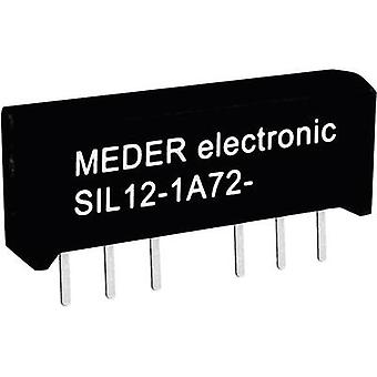 Reed relay 1 maker 5 Vdc 1 A 15 W SIL 4