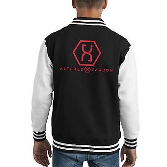 Altered Carbon Helix Logo Kid's Varsity Jacket