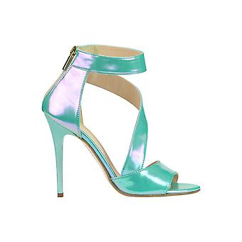 Cardiff ladies MCGLCAT03210E green leather sandals