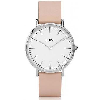 Watch Cluse Bohemia CL18231 - leather Rose joint