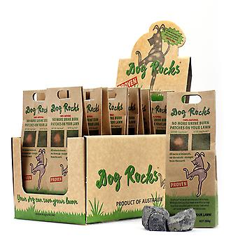Dog Rocks Lawn Burn Supplement stop pet urine ruining your lawn 6 packs 6 X 200g