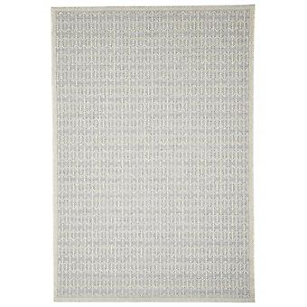 Outdoor carpet silver Skandi look Stuoia silver 155 / 230 cm carpet indoor / outdoor - for indoors and outdoors