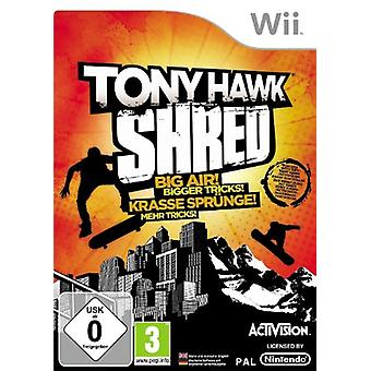 Tony Hawk Shred - jeu seul (Wii)