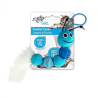 AFP Juguete Modern Cat  Serpiente Surf (Cats , Toys , Plush & Feather Toys)