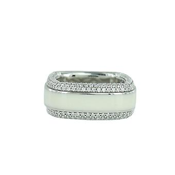 ESPRIT collection ladies ring silver zirconia Algea Gr. 17 ELRG92197A170