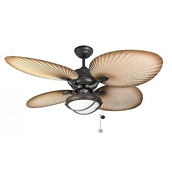 Outdoor Ceiling Fan Palm Patio 132cm / 52