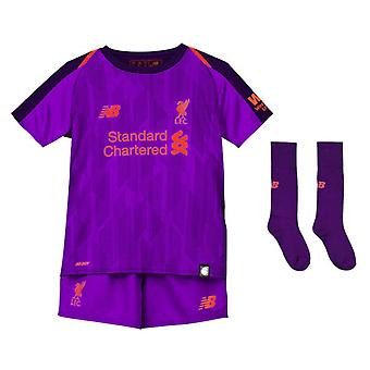 2018-2019 Liverpool Away Little Boys Mini Kit