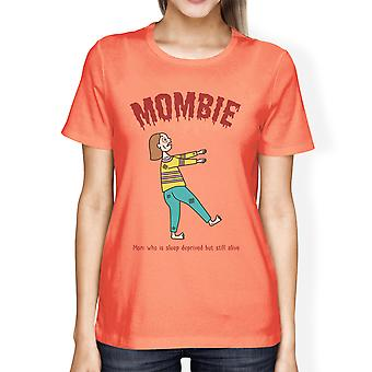 Sleep Deprived Zombie Mom Funny Halloween Costumes Shirt For Women