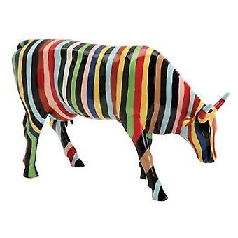 Cow Parade stribet (stor)