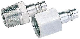 Draper 54420 Bulk 3/8 BSP Female Nut PCL Euro Coupling Adaptor (Sold Loose)