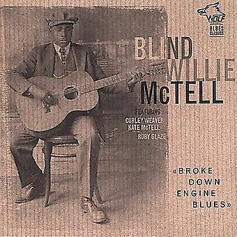Blind Willie McTell - Broke Down Engine Blues [CD] USA import
