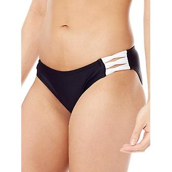 Fox Black Bolt - Lace Up Womens Bikini Bottom