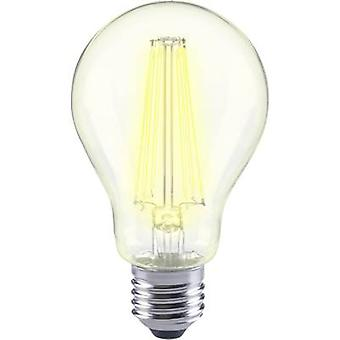 Sygonix LED EEC A++ (A++ - E) E27 Arbitrary 12 W = 98 W Warm white (Ø x L) 67 mm x 118 mm Filament 1 pc(s)
