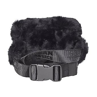 Urban classics - TEDDY mini beltbag/Bodybag axelväska svart