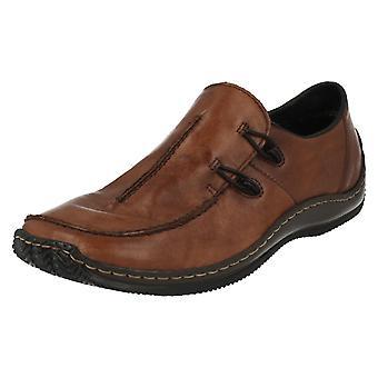 Zapatos de las señoras Rieker planos L1751