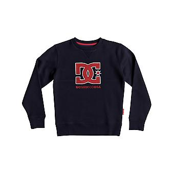 DC Black Iris Glenridge Crew Kids Sweater