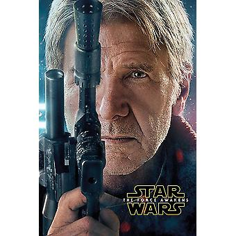 Star Wars Episode 7 poster Han Solo Harrison Ford