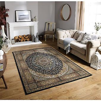 Tabriz 5990K Black Beige  Rectangle Rugs Traditional Rugs