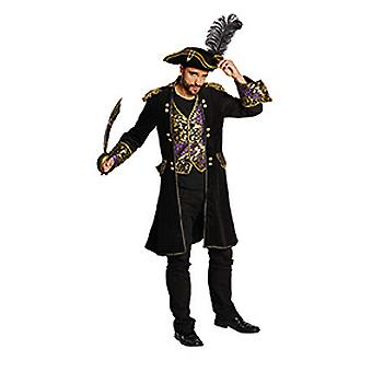 Deluxe pirate coat men's captain pirate King costume