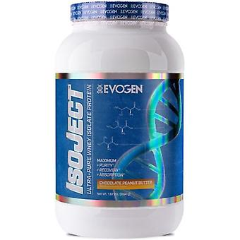 Evogen Isoject Chocolate 896 gr (Sport , Muscle mass , Proteins)