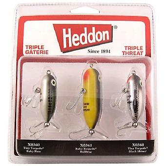 Fishing Lures Heddon Triple Threat variërende gewichten