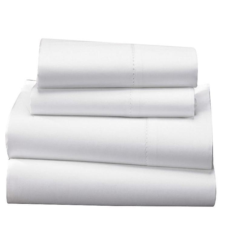 White Tc 100Egyptian 1000 Sheet Bed Cotton Set oBdrCxe