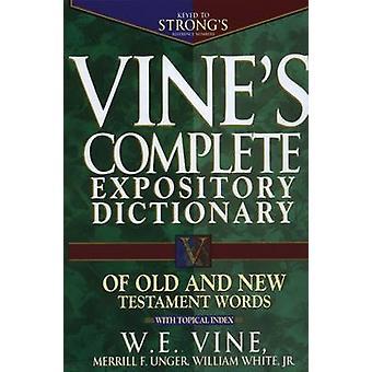 Completo dicionário expositivo do velho e novo testamento palavras da videira
