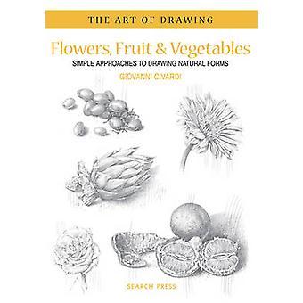 Blumen - Obst & Gemüse - einfache Ansätze zur Zeichnung natürliche Fo