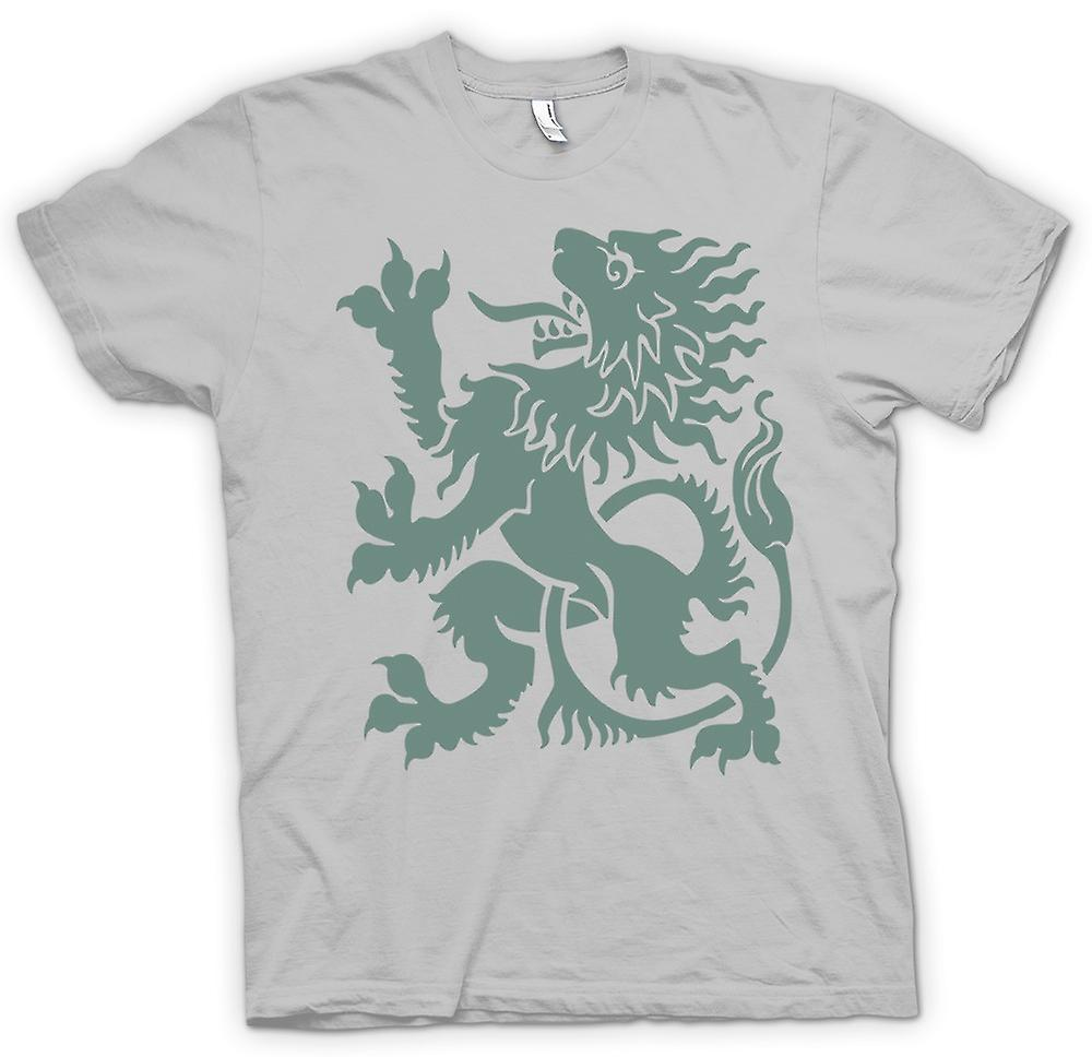 Hommes T-shirt - Welsh Dragon - Heraldy - Cool