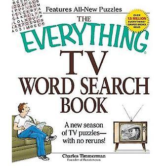 Allt TV Word Sök bok - en ny säsong av TV pussel - med