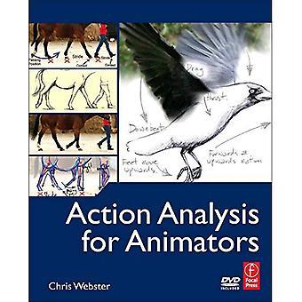 Åtgärd analys för animatörer