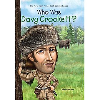 Who Was Davy Crockett? (Who Was...? (Paperback))