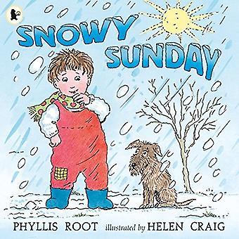 Snöig söndag