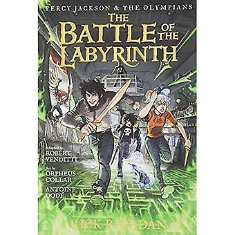 Percy Jackson och Olympians striden av labyrinten