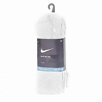 Nike Golf Dry Fit Re-inforced Heel Toe Crew Socks