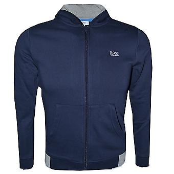 Hugo Boss Boys Navy Tracksuit