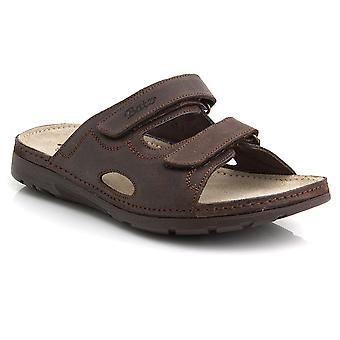 Batz MIKE High Quality Leather Slip-on Mens Sandals Clogs