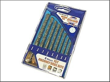 Faithfull Standard Masonry Drill Set of 8 4-10mm