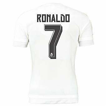 2015-16 real Madrid domicile maillot (Ronaldo 7) - Kids