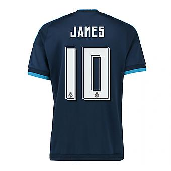 2015-2016 Real Madrid Third Shirt (James 10) - Kids