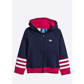 Adidas Originals Girls Full Zip Hoodie - S96071