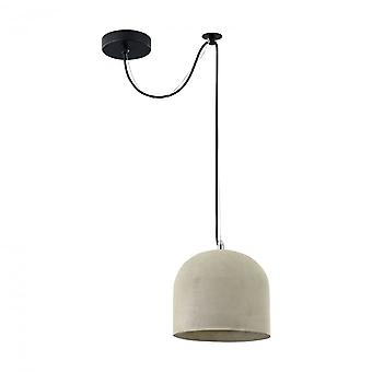 Maytoni Lighting Broni LOFT Pendant, Grey