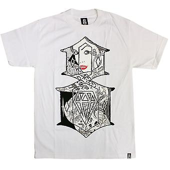 REBEL8 Looking Glass Men's T-shirt White