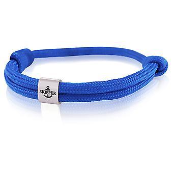 Skipper bracelet surfeur bande noeud maritime bracelet en acier inoxydable bleu foncé 7990