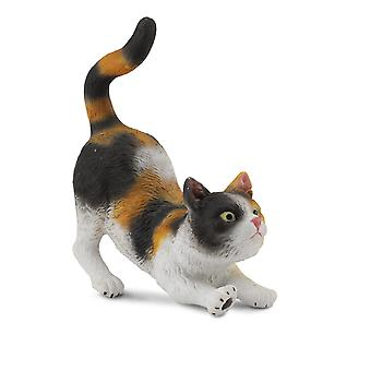 CollectA 3 Colour House Cat Stretching